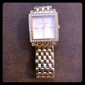 Gold Michael Kors woman's watch!!